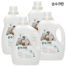 순수크린 올인원 액체세제 3.2L X 4개 /세제유연제
