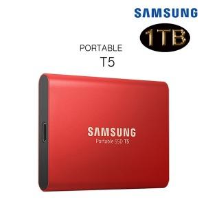 삼성 포터블 SSD T5 1TB MU-PA1TOB USB 3.1