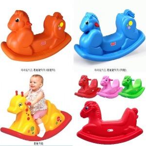 유아 흔들말 가정 실내용 놀이방 말타기 아기 승용완