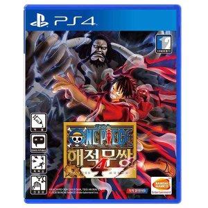 PS4 원피스 해적무쌍4 / 한글판 / 중고