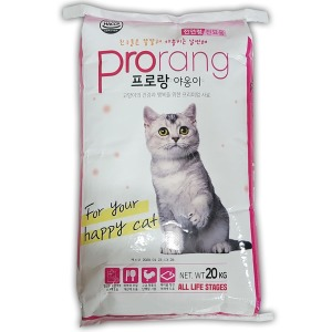 대한사료 프로랑야옹이20kg 고양이사료 길고양이사료