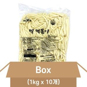 맛찬들 후루룩 밀떡볶이 1박스(1kgX10개) 누들떡 면떡