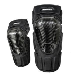 오토바이 바이크 프로텍터 카본 무릎 보호대