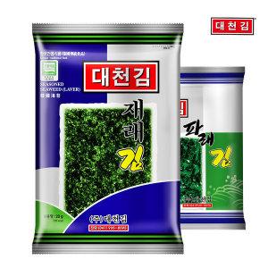 대천김 재래김 10봉+파래김 10봉 혼합 (20봉 x 1박스)