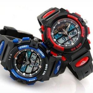 어린이 시계 방수 전자시계 손목시계 PO-A96(방수)