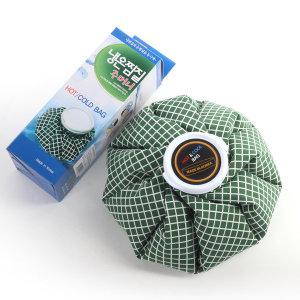 국내생산품 찜질주머니 찜질팩 냉온팩 (그린) - 소