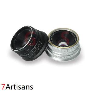 7Artisans 25mm F1.8 수동포커스 APS-C 후지FX마운트
