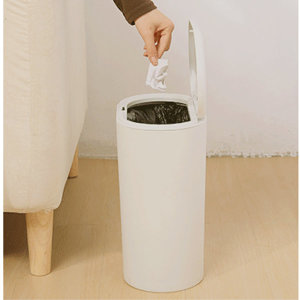 심플 10L 원터치 휴지통 인테리어 가정용휴지통