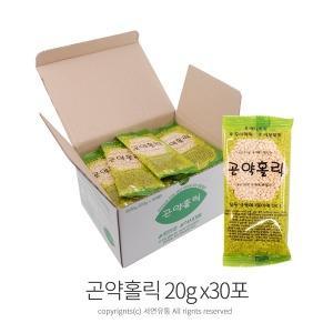 팜팜 곤약홀릭(20g x30포) 누룽지씨리얼 곤약볶음