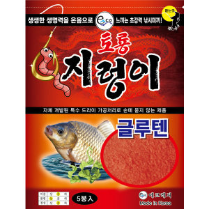 에코 토룡 지렁이 글루텐 / 미끼 떡밥