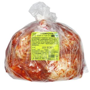 종가집 갓담은 생포기김치 5kg (백두) 국산 배추김치