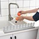 흡착식 싱크대물막이 고급실리콘 물튀김방지 주방용품
