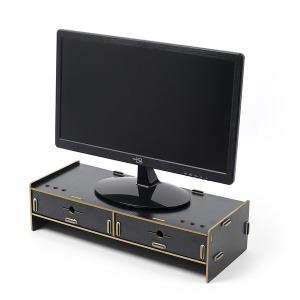 2단 컴퓨터 모니터받침대 데스커 온라인개학준비물
