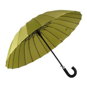 바니브라운 24K 솔리드 곡자 자동 장우산