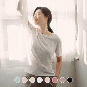지오다노 320515 전지현 슬럽 반팔 티셔츠 (40수)