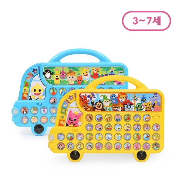핑크퐁 사운드북 한글버스 알파벳버스