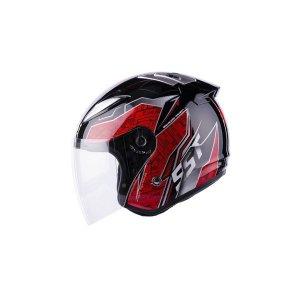 SST 오토바이헬멧 크라운-070 블랙레드
