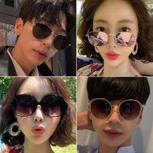 선글라스 여자 남자 보잉 뿔테 틴트 패션 자외선차단