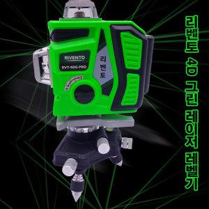 이엑스파워 RVT-4D 그린 측정 레이저 레벨기 수평기