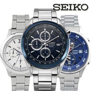 세이코 정품 100M 방수 크로노그라프 남성 손목시계