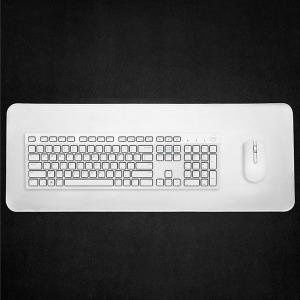 화이트 그레이 장패드 게이밍 키보드 마우스 800x300