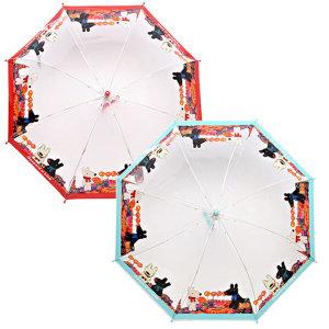 가스파드앤리사 캔디월드 투명53  아동 초등학생 우산