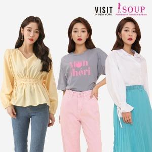 SOUP 봄 베스트 상품 간절기 아우터/원피스/블라우스
