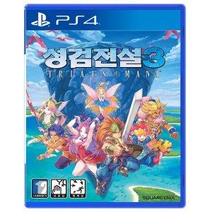 PS4 성검전설3 트라이얼즈 오브 마나 / 한글판 /초회판