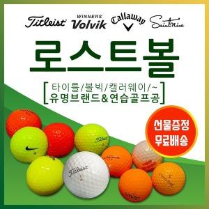 로스트볼/타이틀/볼빅/초특가/무료배송/사은품증정