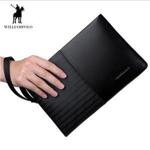 WilliamPOLO-247 명품 클러치백 남성 남자 손가방 가죽