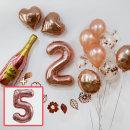 파티 장식세트DB_숫자풍선(5) / 생일풍선 기념일풍선