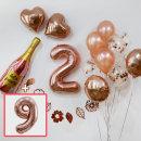 파티 장식세트DB_숫자풍선(9) / 생일풍선 기념일풍선