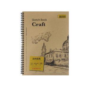 세르지오 크라프트 스케치북 A4 100g 30매
