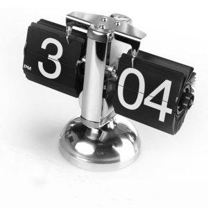 자동 페이지를 넘기는 탁상시계 플립시계 인테리어시계