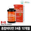 캐나다 종합비타민 12개월 멀티비타민 영양제