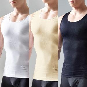 남자보정속옷/나시 시원한 냉감 국내생산 확실한보정