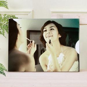 아크릴액자+사진인화 5x7(12x17cm)결혼웨딩 아기가족
