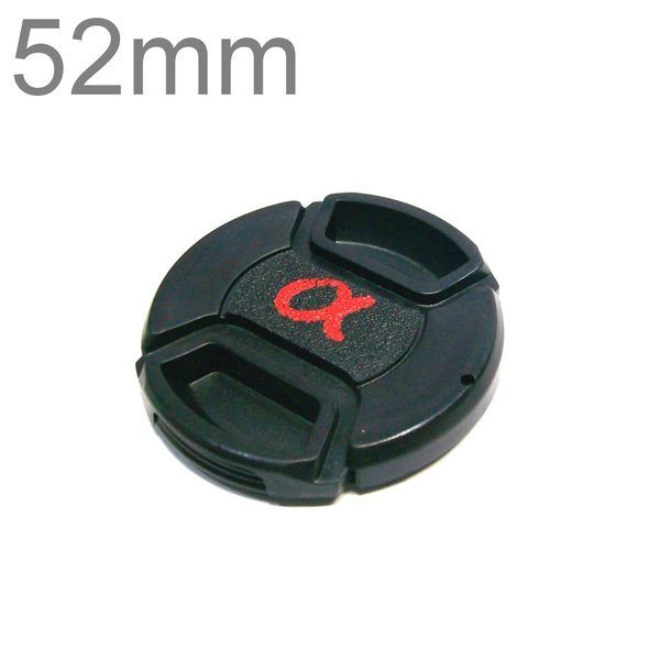 52mm 소니 삼성 니콘 캐논 카메라 호환 알파 렌즈캡