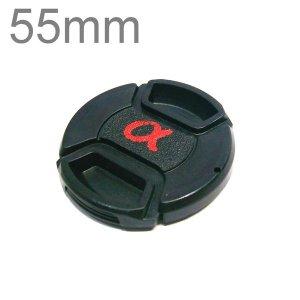 55mm 소니 삼성 니콘 캐논 카메라 호환 알파 렌즈캡