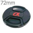 72mm 소니 삼성 니콘 캐논 카메라 호환 알파 렌즈캡