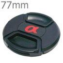 77mm 소니 삼성 니콘 캐논 카메라 호환 알파 렌즈캡