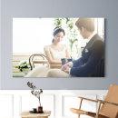 아크릴액자+사진 11x14(27x35cm)결혼웨딩 가족 돌잔치