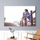 아크릴액자+사진 12x17(30x42cm)결혼웨딩 가족 돌잔치