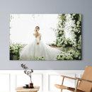 아크릴액자+사진 10x20(25x50cm)결혼웨딩 가족 돌잔치
