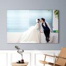 아크릴액자+사진24x40(60x100cm)결혼웨딩 가족 돌잔치