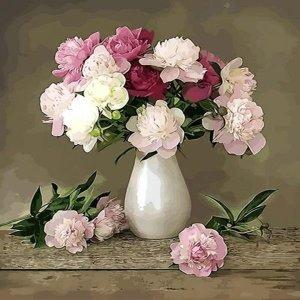 피포페인팅 Q3085 꽃정물화 DIY명화그리기 셀프페인팅