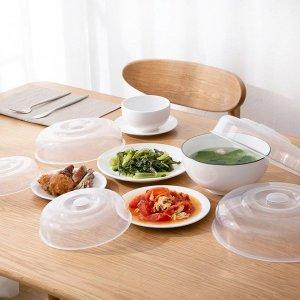 전자렌지용 만능 푸드커버 4종세트/ 음식커버 음식보관 그릇덮개 식탁보 다용도만능커버