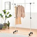 바퀴형 이동식 행거(FA815)/수납 옷장 옷걸이 정리함