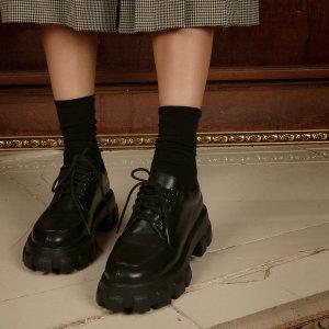 리플라  19B503 black loafer