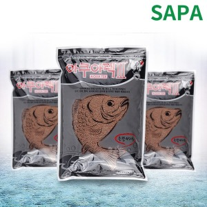 싸파 떡밥 아쿠아텍3 미끼 민물 어분 낚시용품
